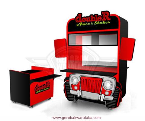 gerobak juice milkshake bandung