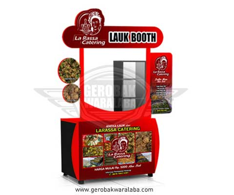 booth portable unik la rassa catering